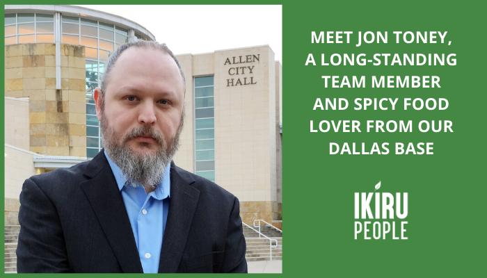Meet Jon Toney, a long-standing team member from our Texas, US case