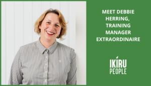 Meet Debbie Herring, training manager extraordinaire
