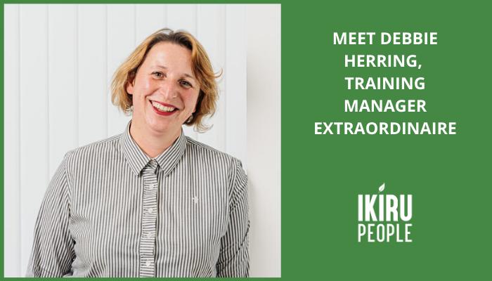 Meet Debbie Herring, training manager extraordinaire