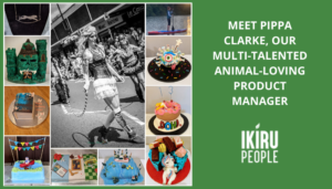 Meet Pippa Clarke, Our Multi-Talented Animal-Loving Product Manager